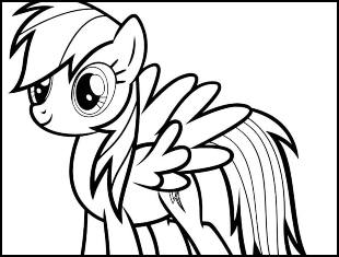 Coloriages My Little Pony