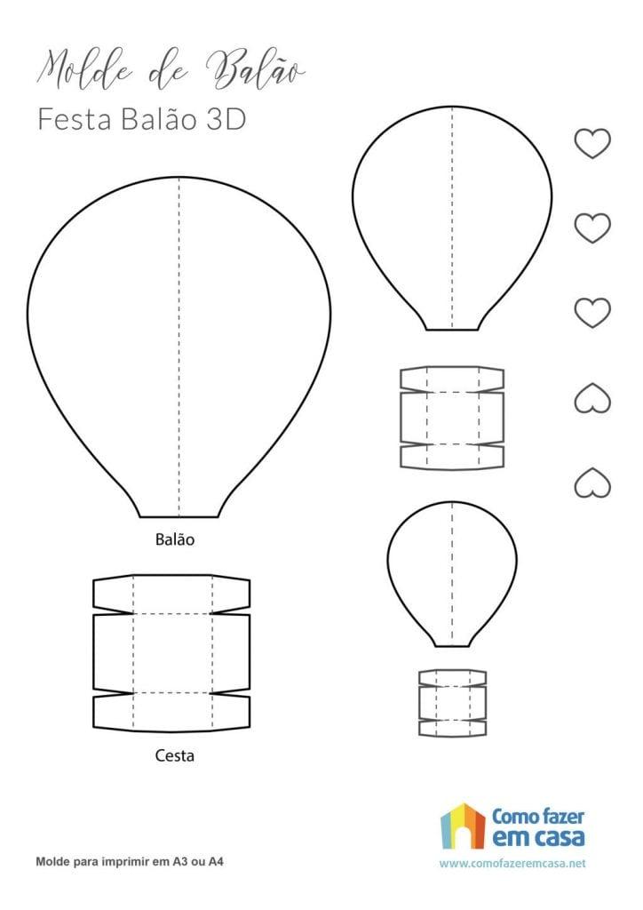 modèle de ballon Comment faire un ballon en papier