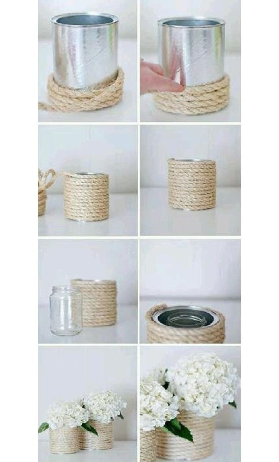 Pot avec boîte