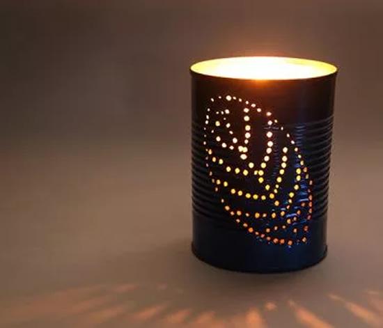 Lampe avec boîte