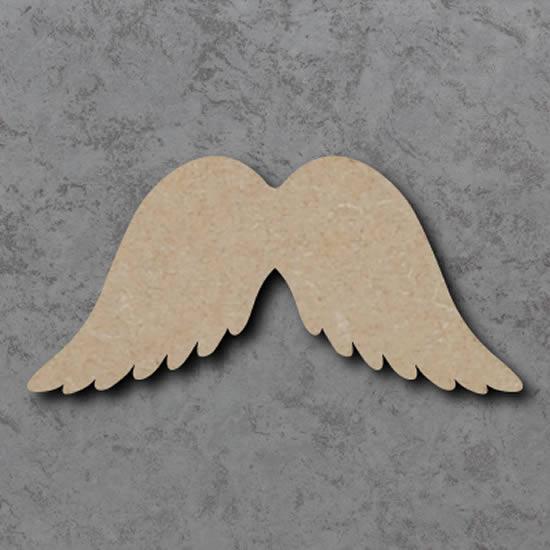 Ailes d'ange avec du carton