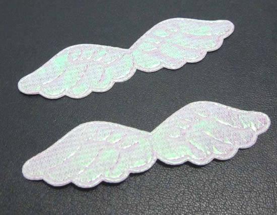 Ailes d'ange avec tissu