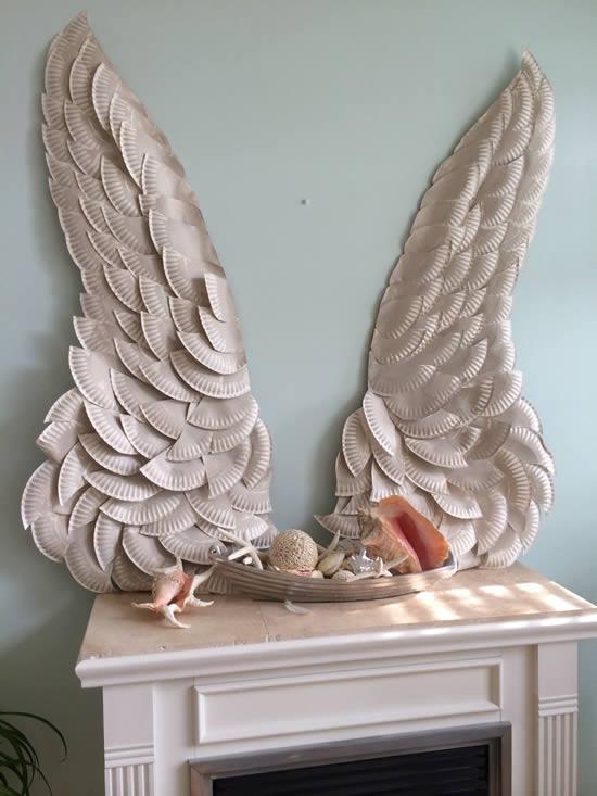 Aile d'ange pour la décoration