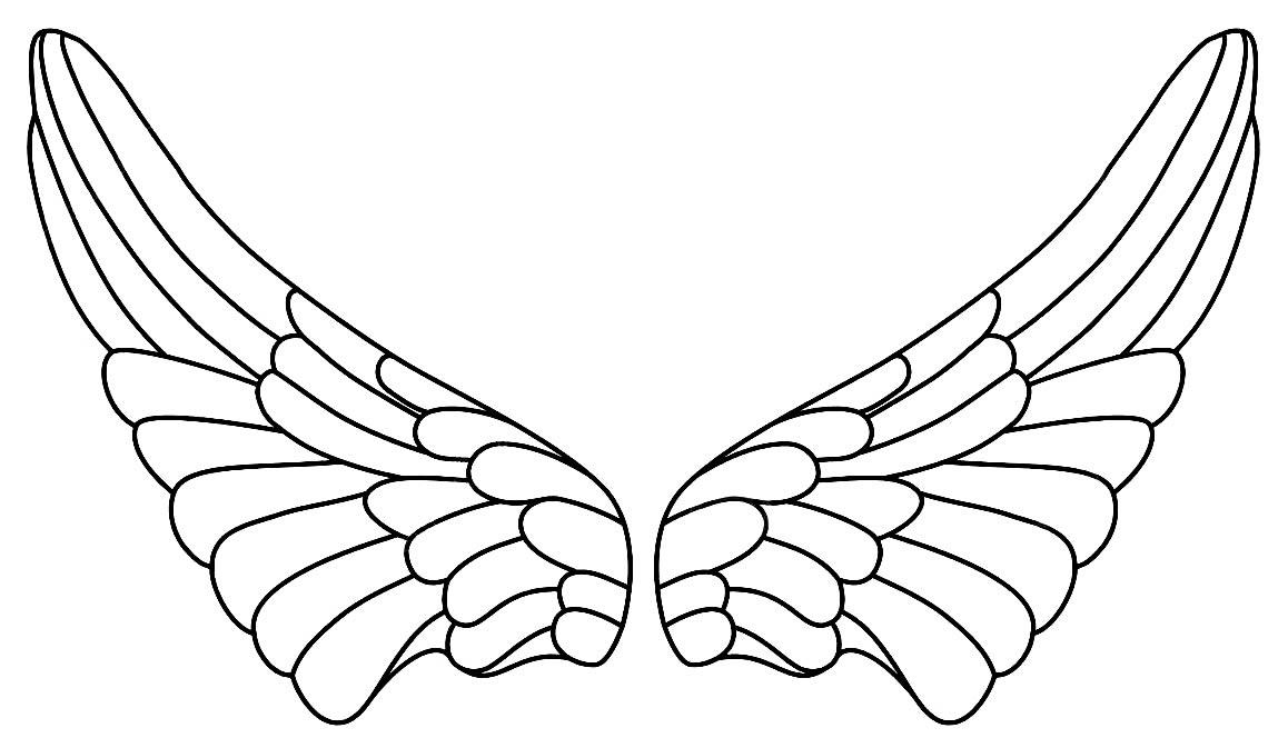 Molde para asas de anjo