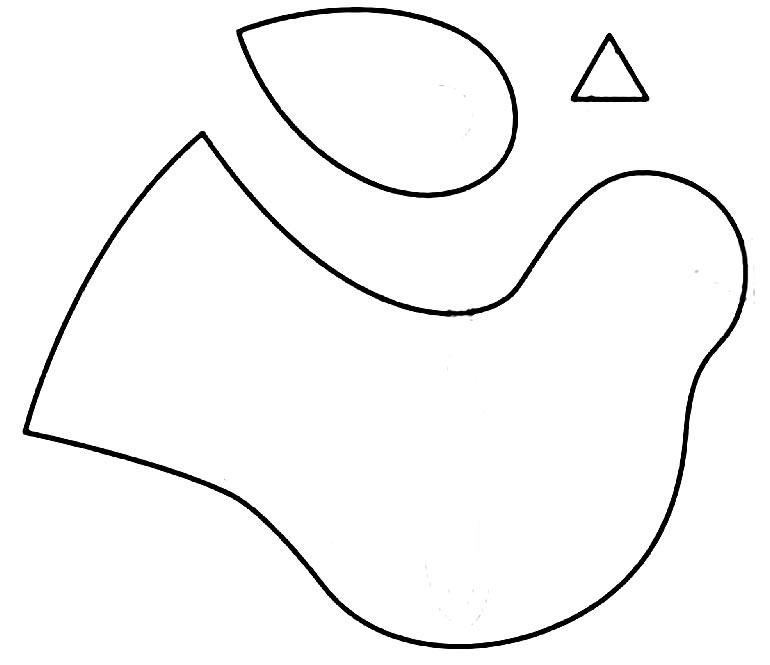 Molde de passarinho
