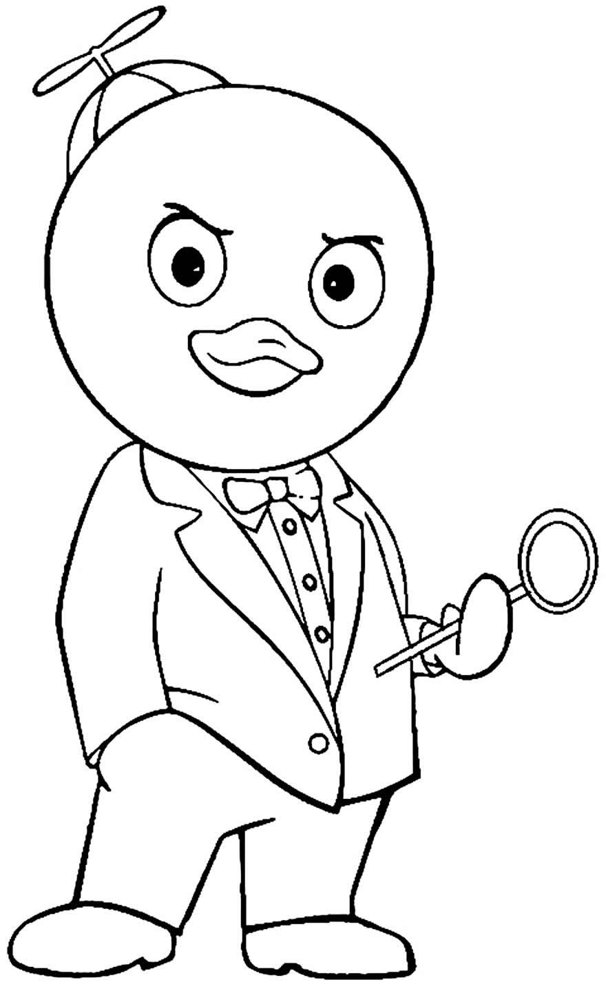 Imagem de Backyardigans para colorir