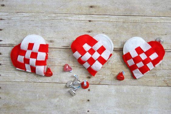 cesta de coração