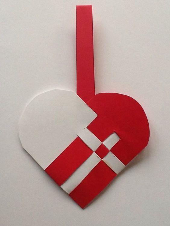cesta de coração  dinarmaquês