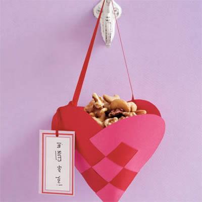 cesta de coração  dinamarquês