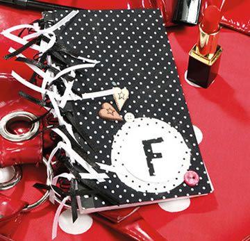 cahier prêt et décoré