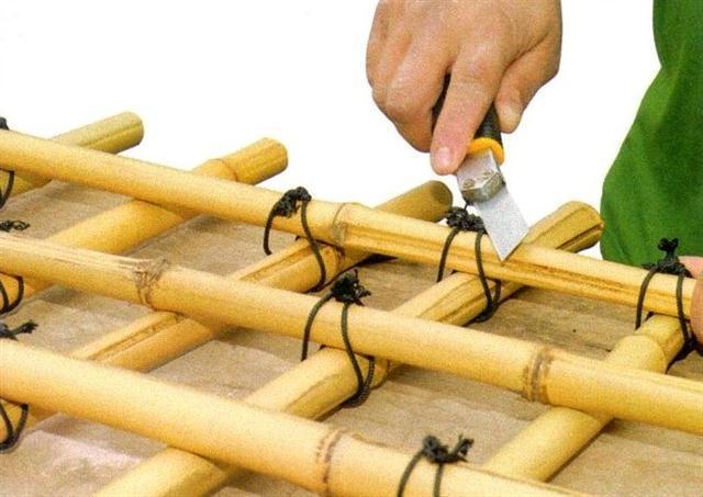 Comment faire un berceau en bambou
