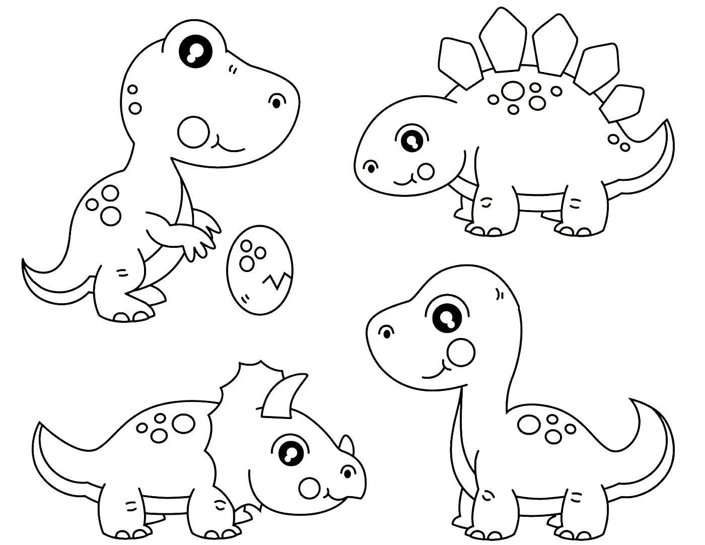 Moules de dinosaures pour pinte