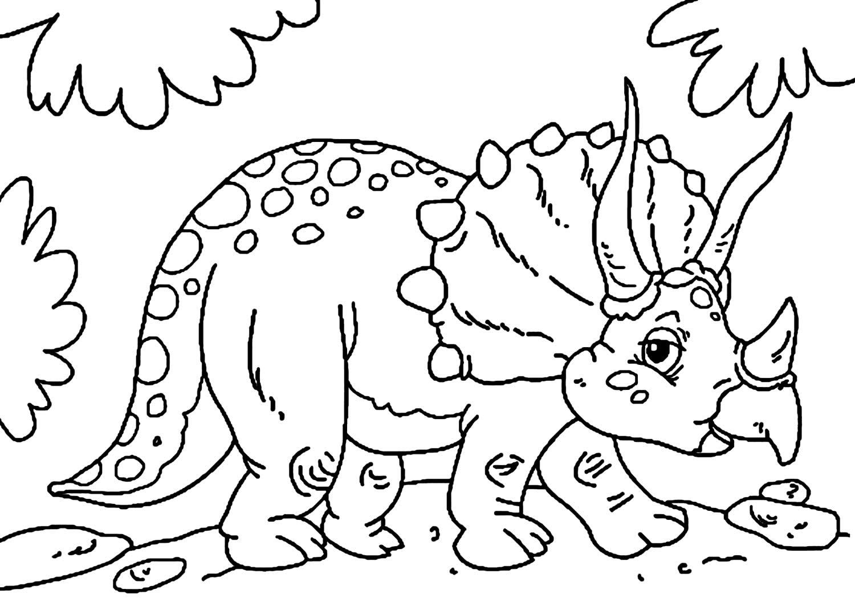Image de dinosaure pour pinte