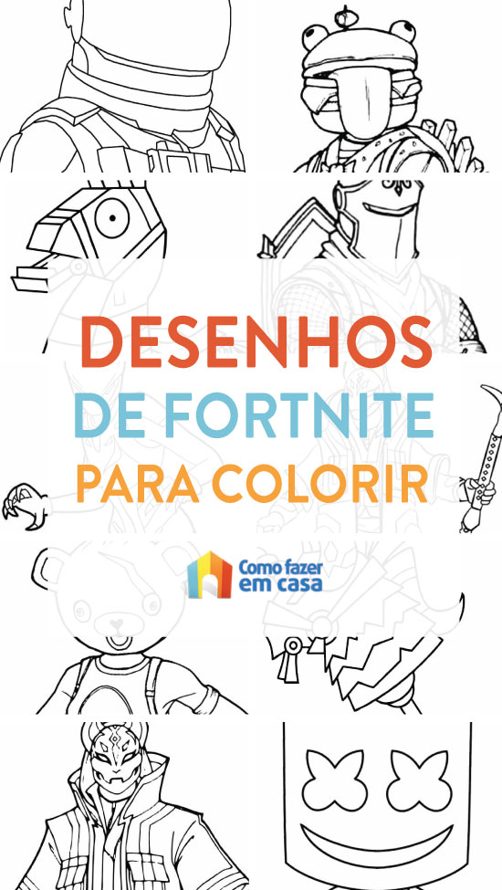 Coloriages Fortnite