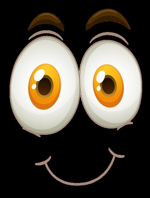 yeux colorés