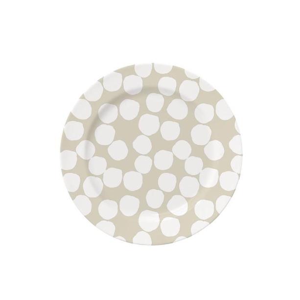 """Assiette à dessert en porcelaine, par Coisas da Doris: <a href =""""https://coisasdadoris.com.br/collections/coisas-de-casa-principal/products/prato-sobremesa-confetti-grey?variant=20977630281846""""> 15 R $ </a>» class=»lazyload» data-pin-nopin=»true»/></div> <p class="""