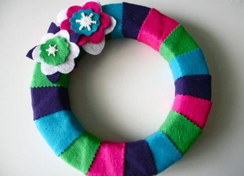 Comment faire une guirlande colorée pour Noël