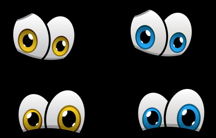 yeux divisés