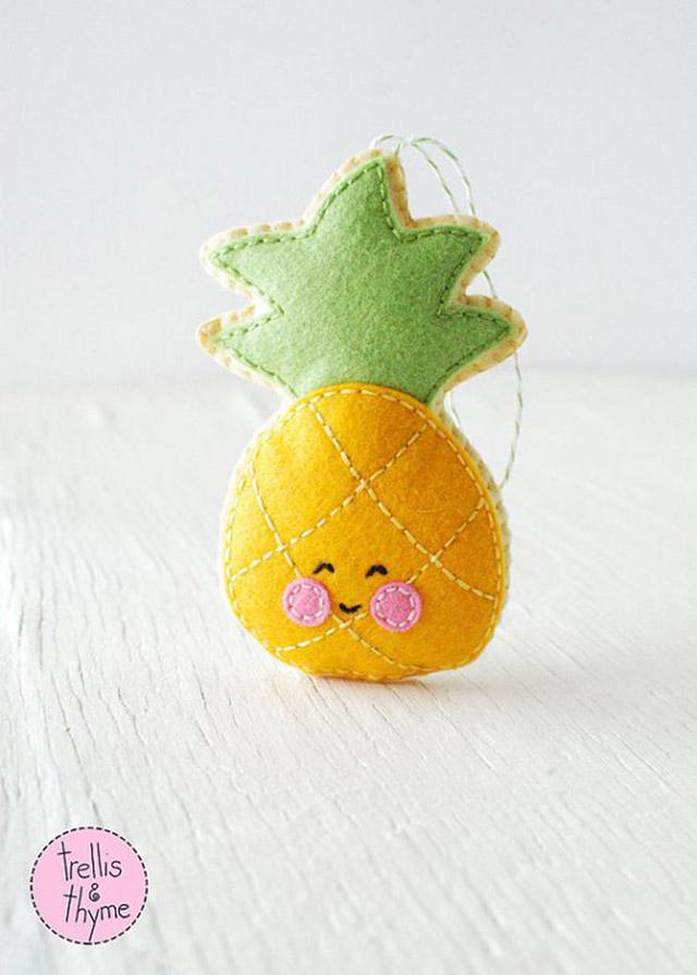 fruits en feutre