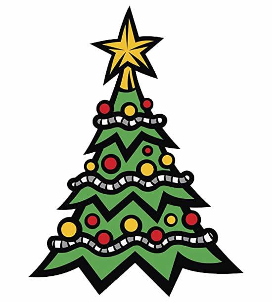 Moule d'arbre de Noël
