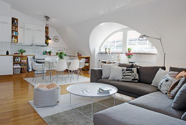 conception de grenier dans la maison
