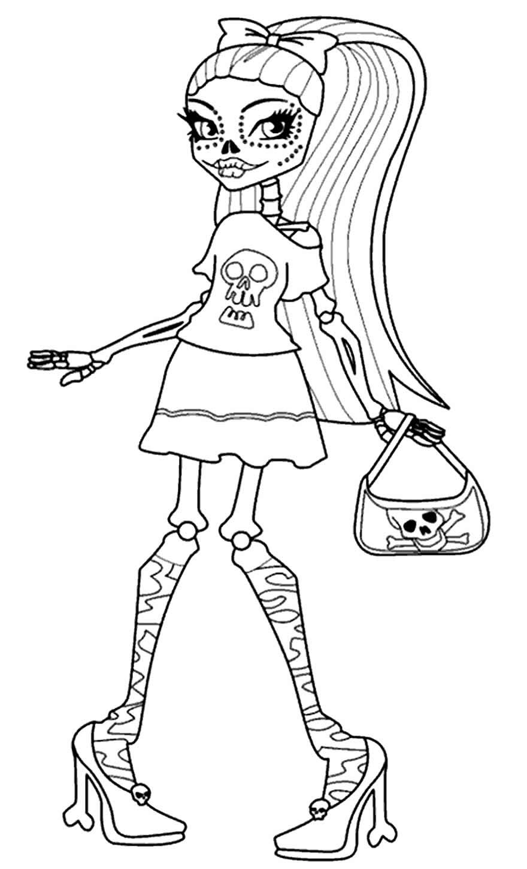 Modèle Monster High