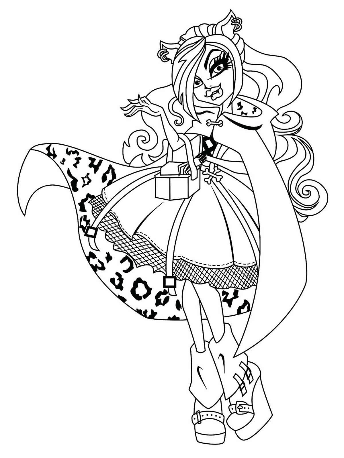 Moule Monster High