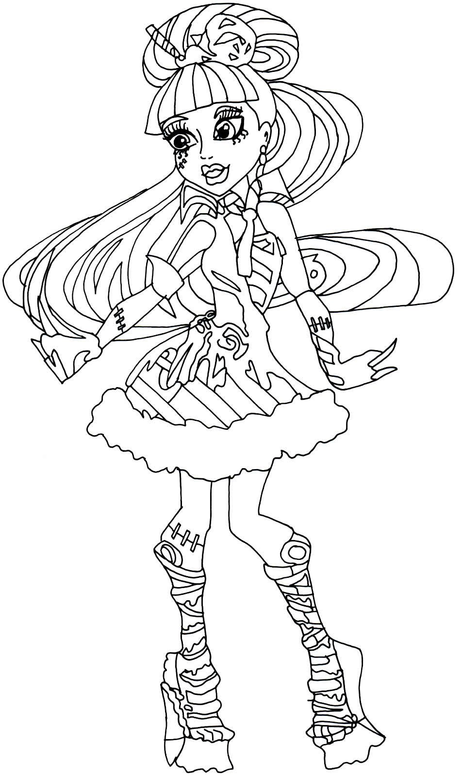 Dessin Monster High