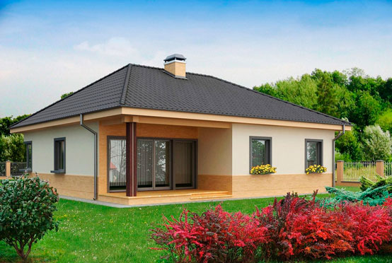 Avantages d'une maison à un étage 10x10 m