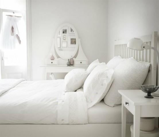 intérieur de la pièce en blanc