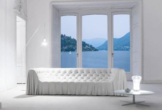 intérieur de l'appartement blanc
