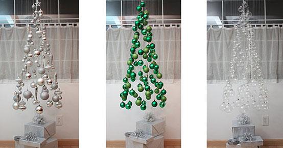 Idées inhabituelles de décoration d'arbre de Noël