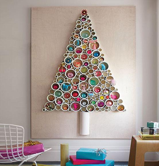 Sapin de Noël DIY insolite