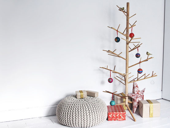 Idées d'arbres de Noël bricolage
