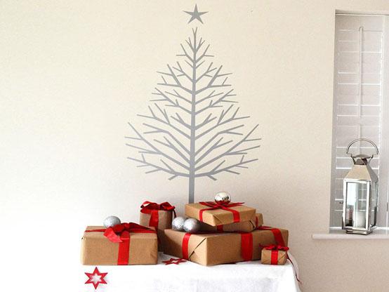 Sticker arbre de Noël