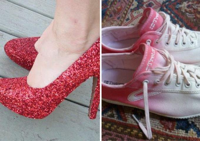 personnaliser les chaussures