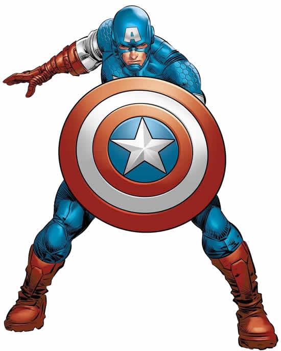 Moule Captain America