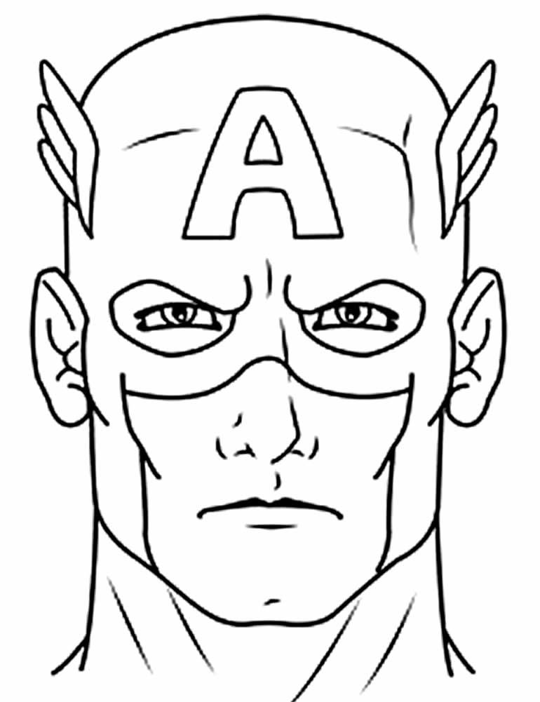 Maquette Captain America à peindre