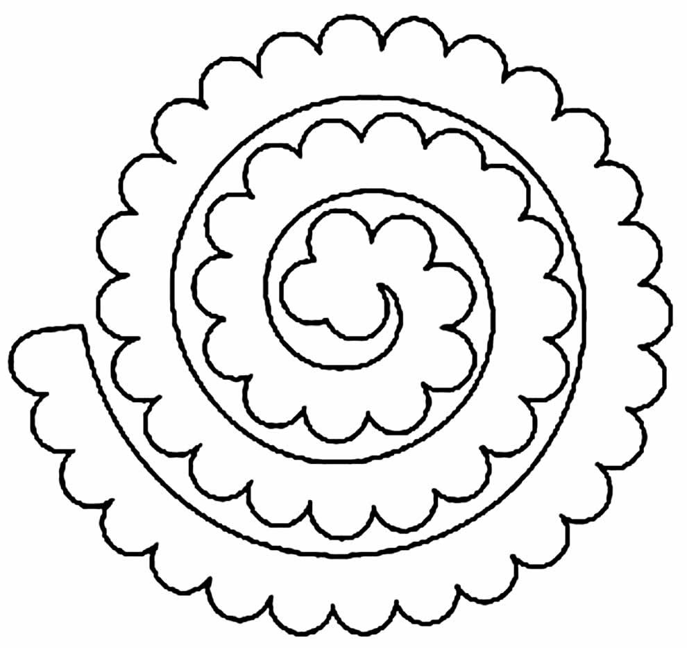 Moule à fleurs en feutre