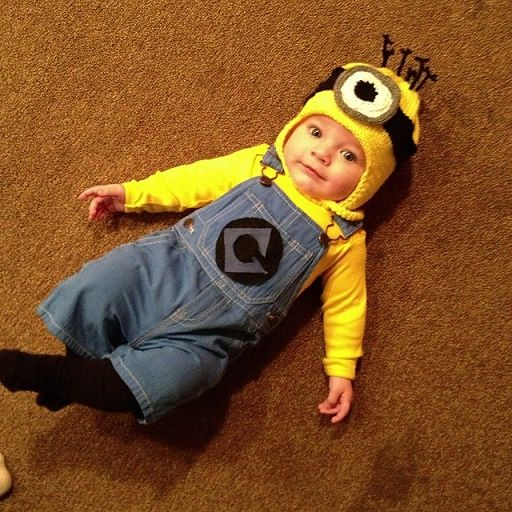 costume de sbires pour bébés