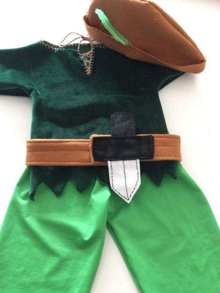 costume de peter pan pour le carnaval