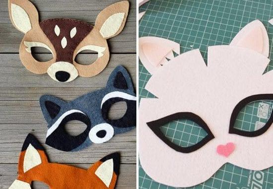 masque pour enfants pour le carnaval