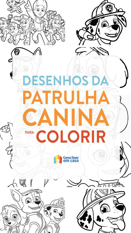 Coloriage de Paw Patrol à imprimer et colorier