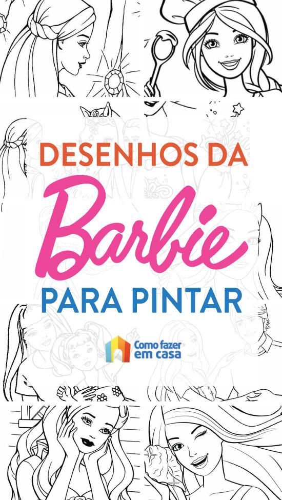 Coloriage Barbie