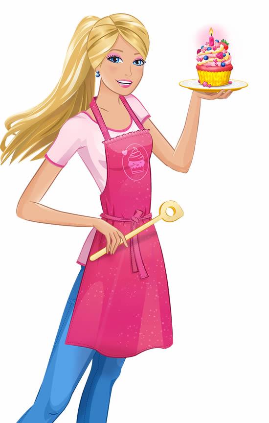 Dessin de Barbie