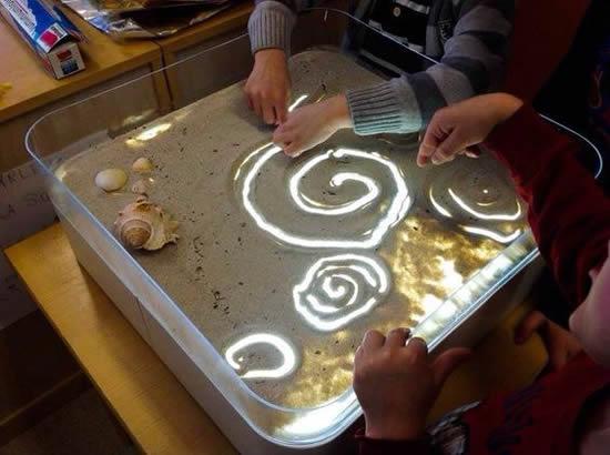 comment créer une lightbox pour les enfants dessiner et écrire