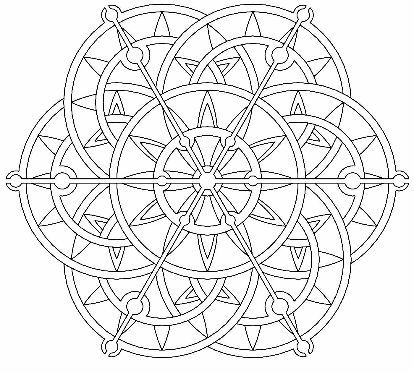 Image de Mandala à peindre