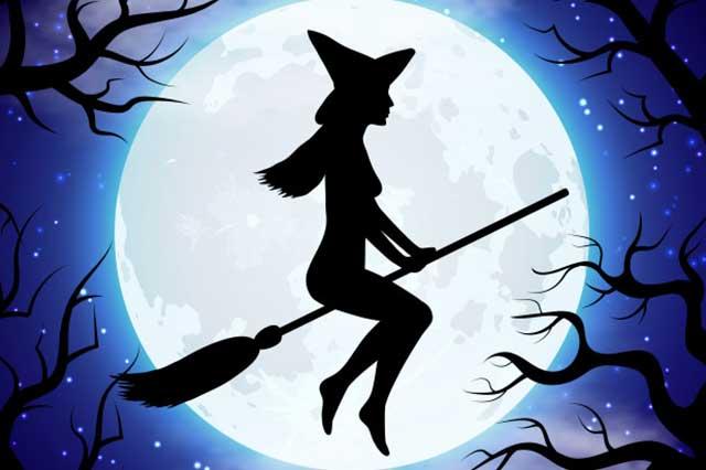 coloriage de sorcière